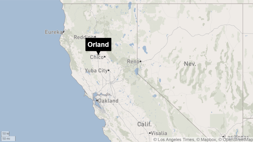 A teenager was killed along Interstate 5 near the town of Orland in Northern California.