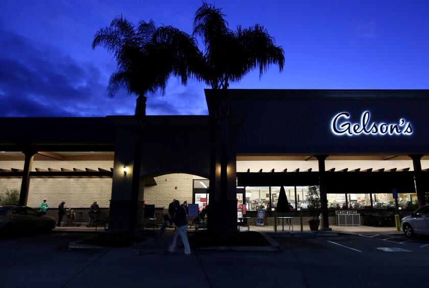 A Gelson's store in La Cañada Flintridge