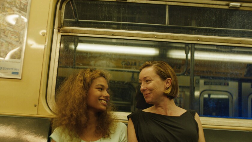 "(L-R) - Helena Howard and Molly Parker in a scene from ""Madeline's Madeline."" Credit: Oscilloscope L"