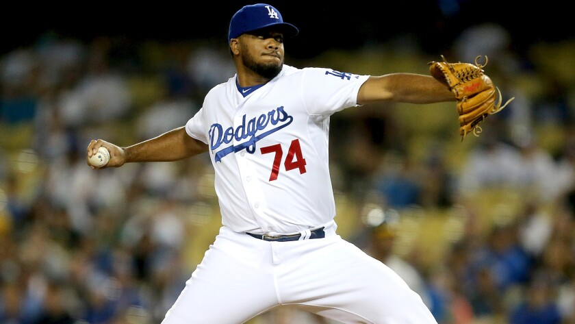 Dodgers closer Kenley Jansen says he will be all about the business on the field, and not about a future contract, when the season opens Monday.