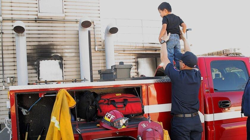RSF Firefighters participate in a variety of events to help the community.