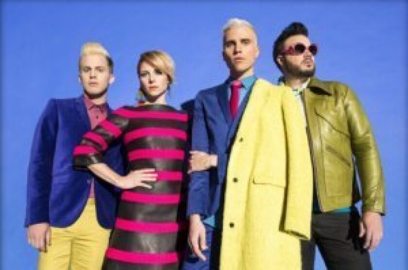 The Neon Trees come to the Del Mar Racetrack for a concert on Friday, Aug. 1.