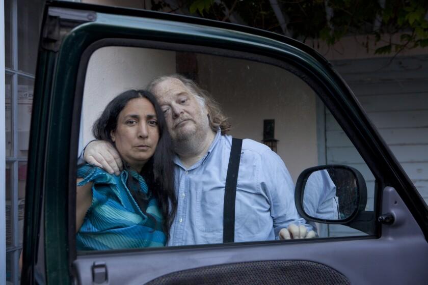 Laurie Ochoa and Jonathan Gold