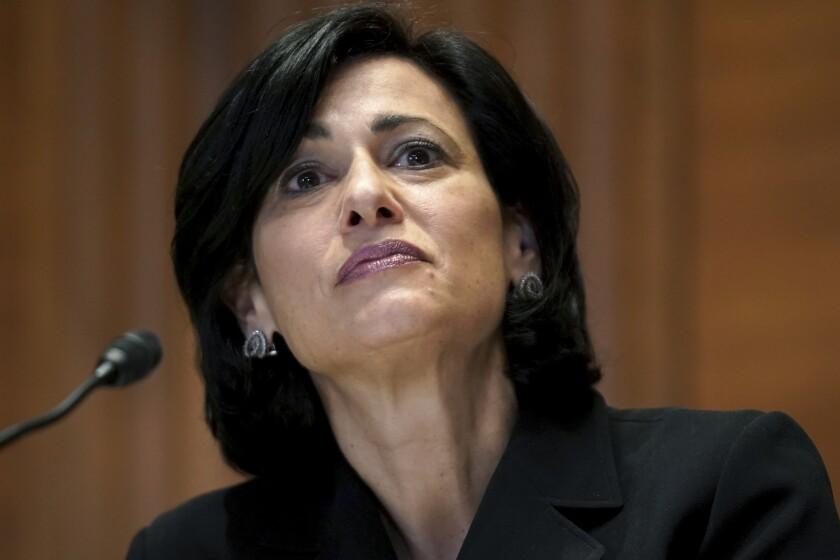 La directora de los Centros para el Control y la Prevención de Enfermedades de EEUU, Rochelle Walensky