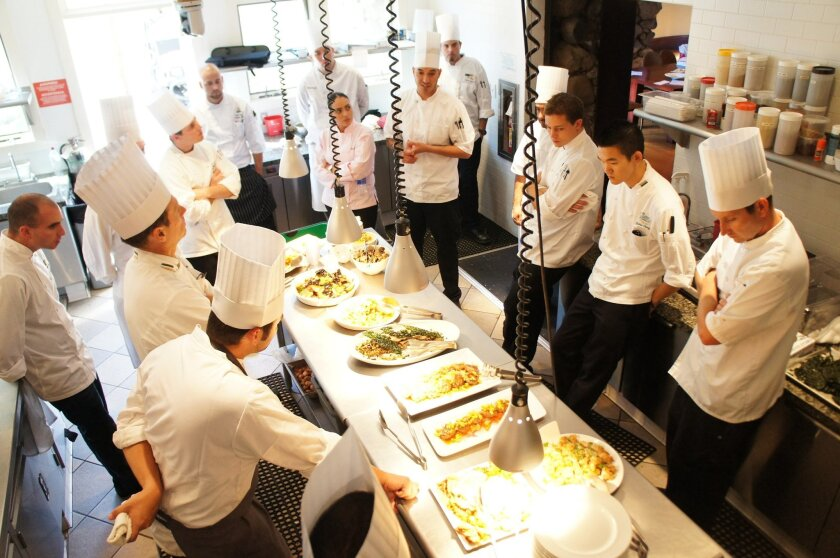 Thanks to the culinary scholarships, entry- and mid-level cooks can take an intensive weeklong training course at the Culinary Institute of America at Greystone in Napa.