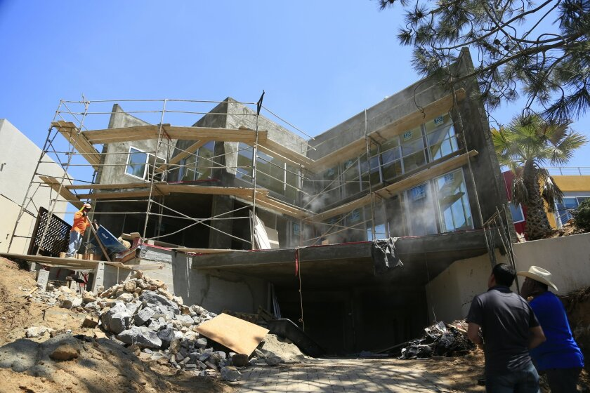 American Coastal Properties is redoing this home at 13721 Pine Needles Dr. in Del Mar and plans to list it for sale this summer for more than $3 million.