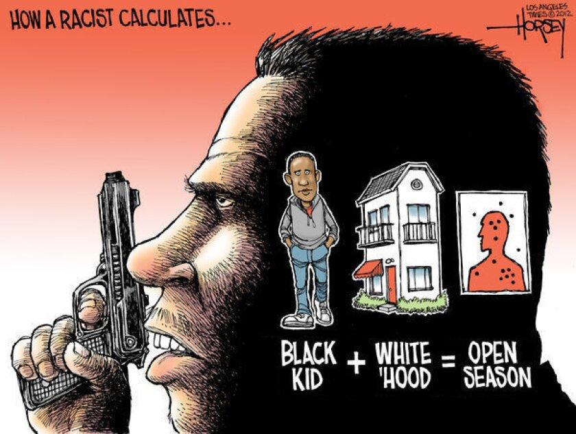 Did Trayvon Martin die because he was black?