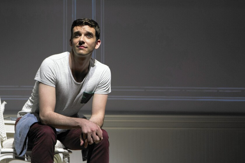 """Michael Urie plays all the roles in """"Buyer & Cellar."""""""