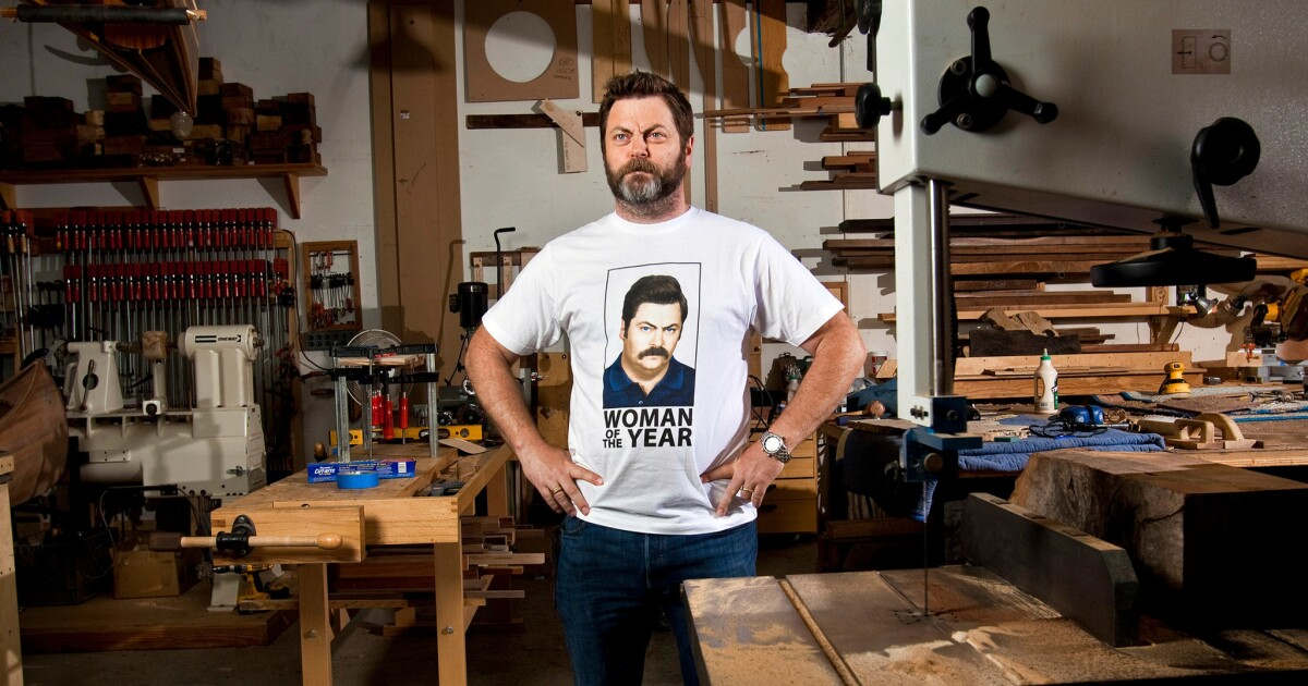 'Parks and Rec' star Nick Offerman's comedy specials: Your quarantine must-watch of the day