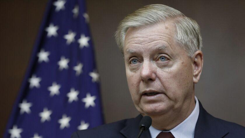 Republican Sen. Lindsey Graham.