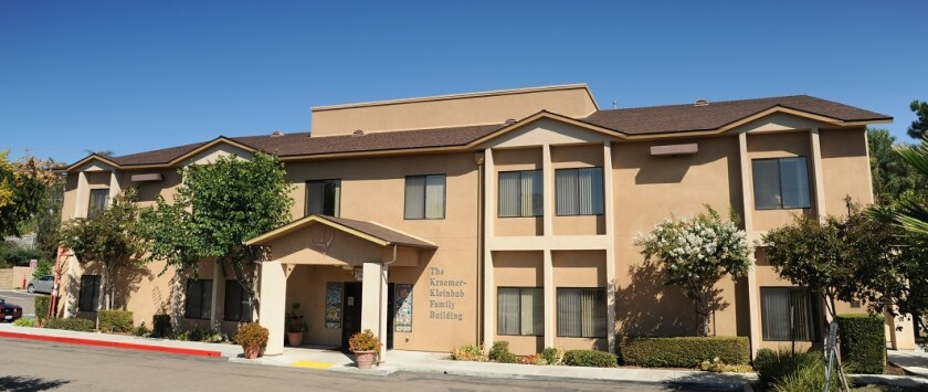 St. Madeleine Sophie's Center in El Cajon serves more than 400 adults with developmental disabilities. The center has been closed since March 19 because of the coronavirus pandemic.