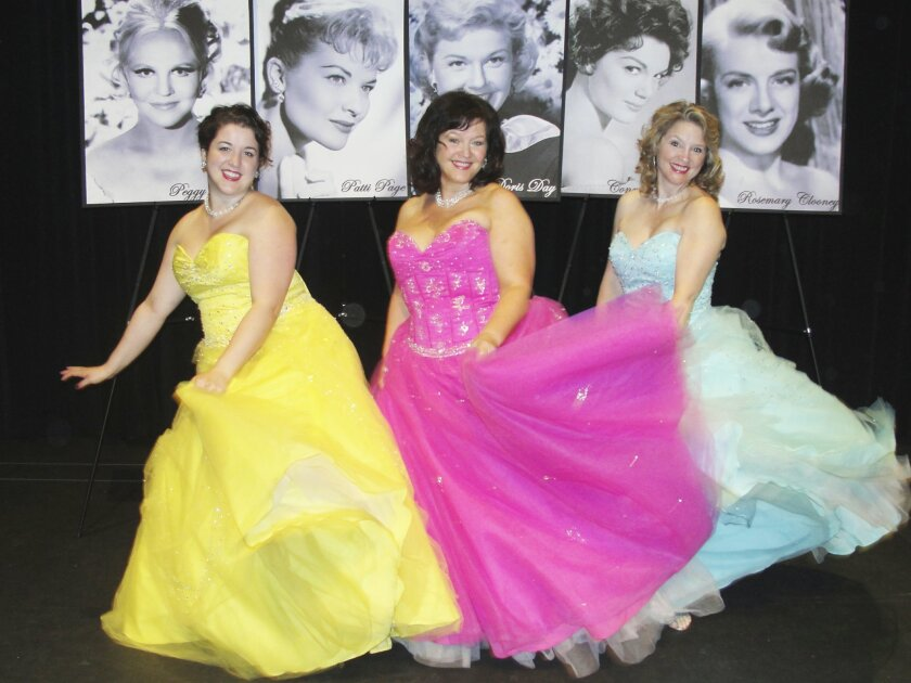 'Girl Singers of the Hit Parade' from North Coast Rep offers a trip down Memory Lane. Courtesy photo
