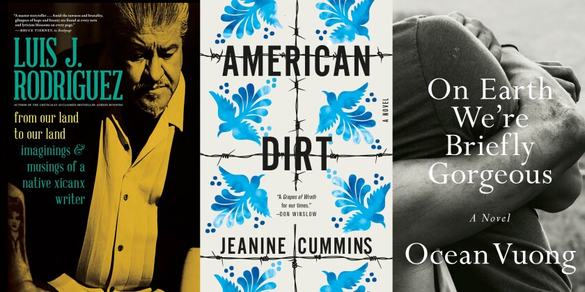 """The LA Times Book Club 2020 lineup includes """"From Our Land to Our Land,"""" """"American Dirt,"""" and """"On Earth We're Briefly Gorgeous."""""""