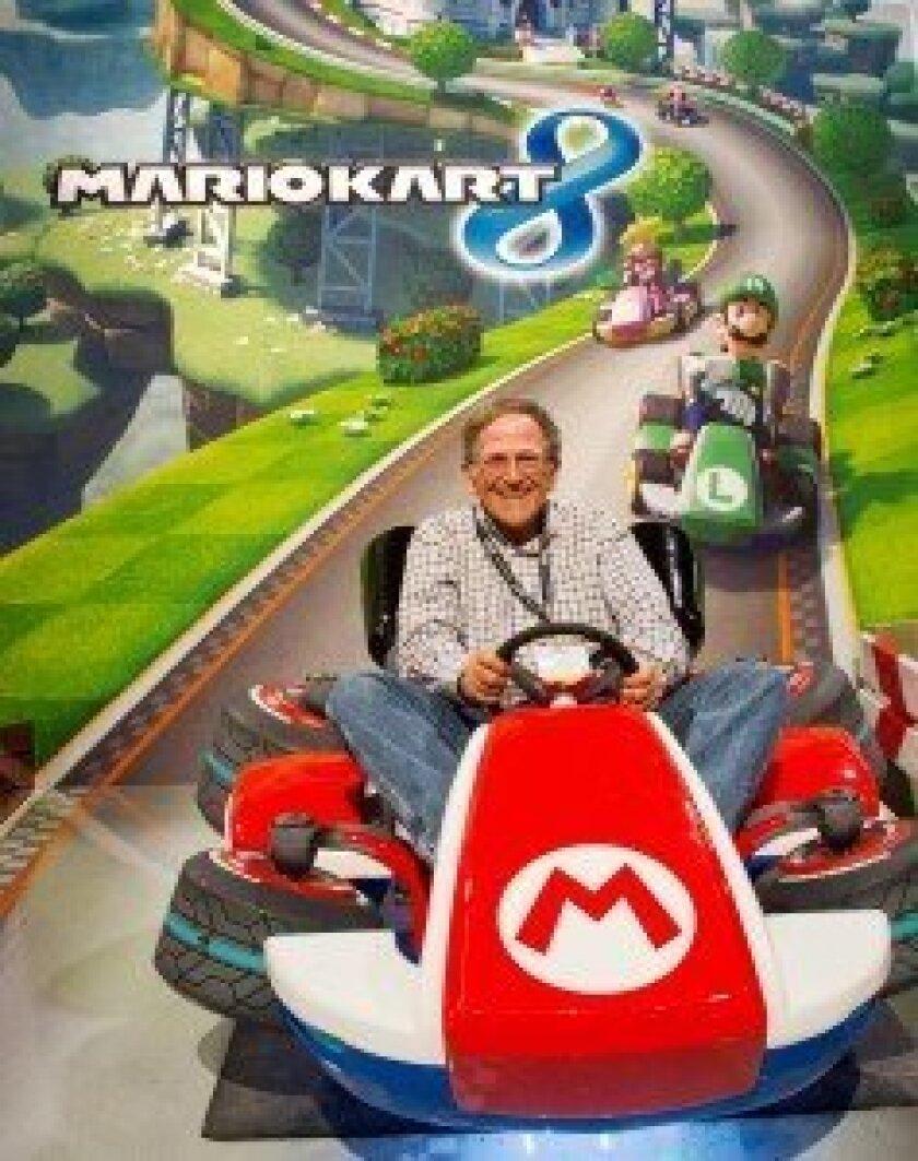 """Jan in """"Mario Kart 8"""""""