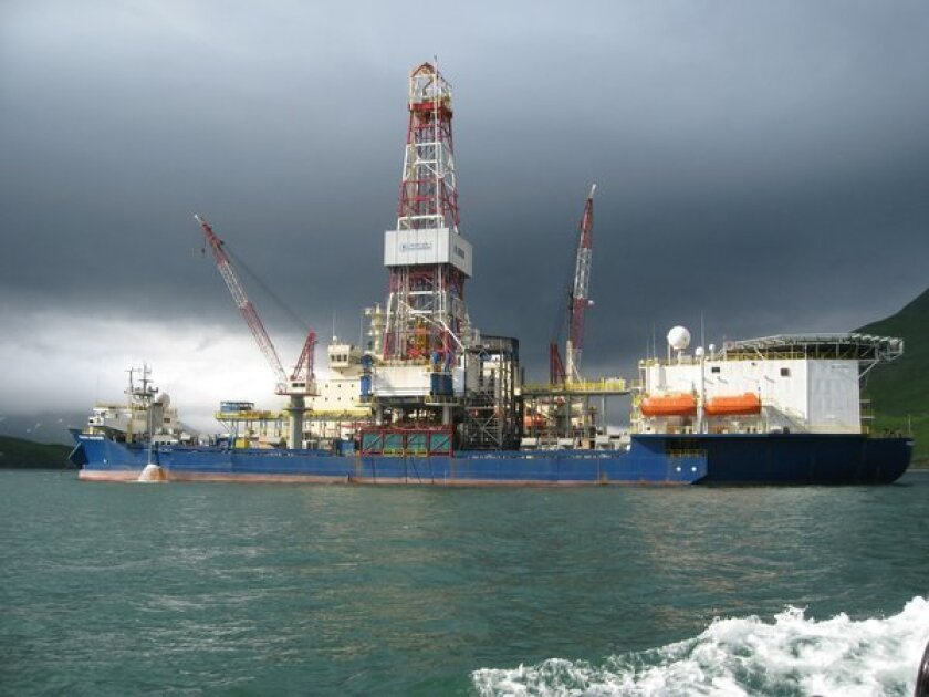 The Noble Discoverer was one of two Shell Arctic drilling rigs cited for air emissions violations.
