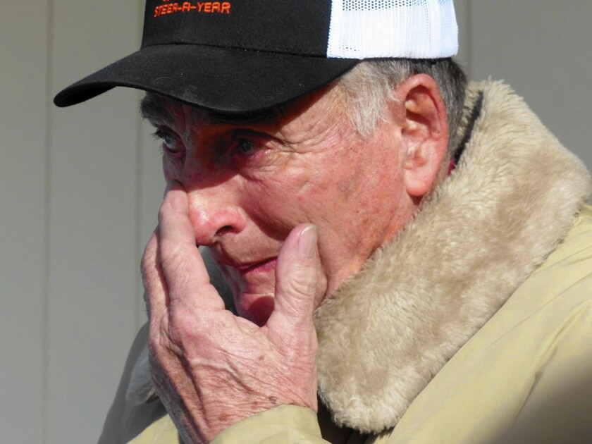 Prosecutors said Oregon rancher Dwight Hammond Jr. and his son started a fire in 2001 to cover up an illegal deer hunt.