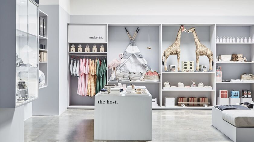 A look at Goop's pop-up shop, Goop Gift, at Brentwood Country Mart.
