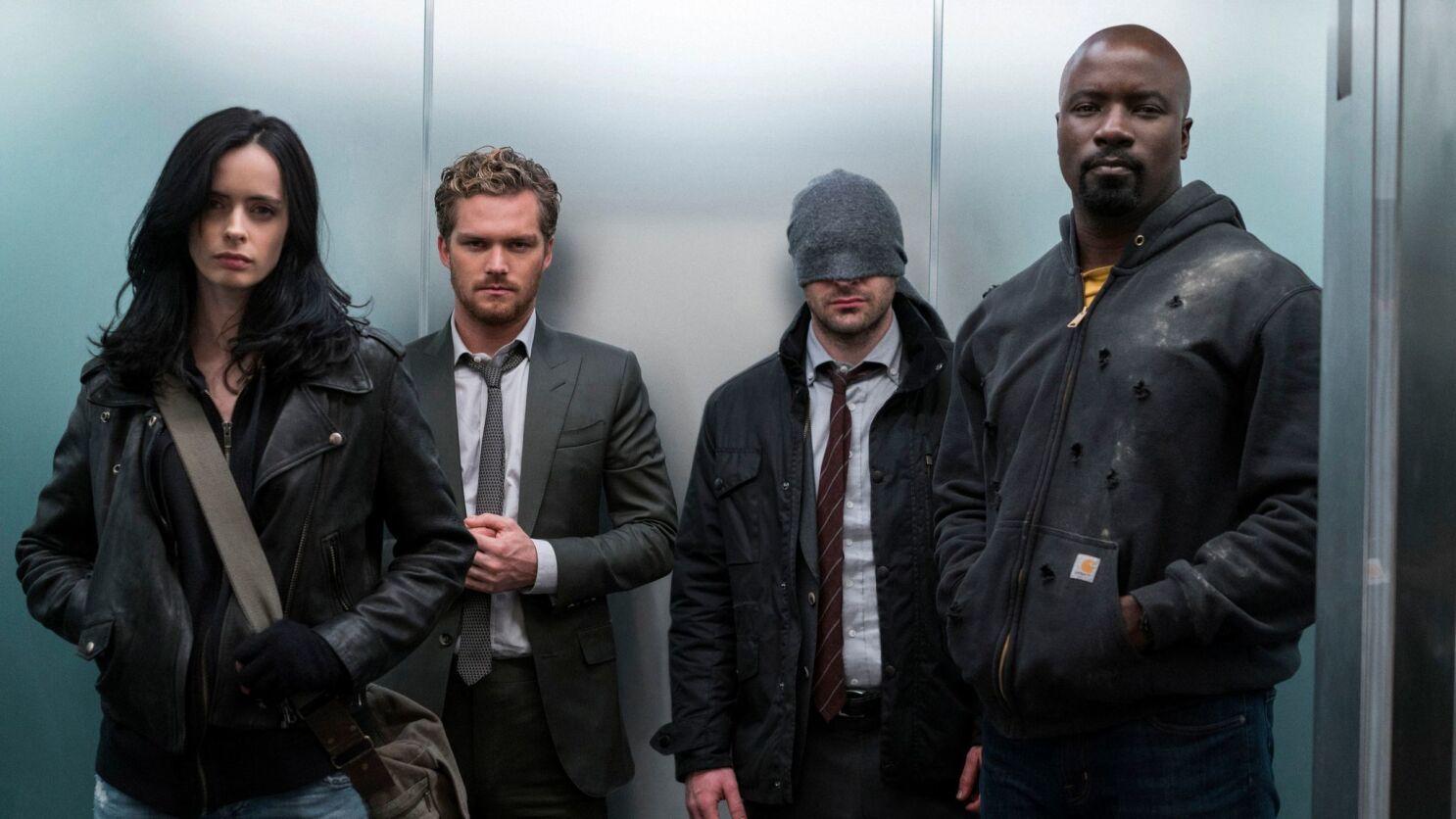 The Marvel - Netflix leads