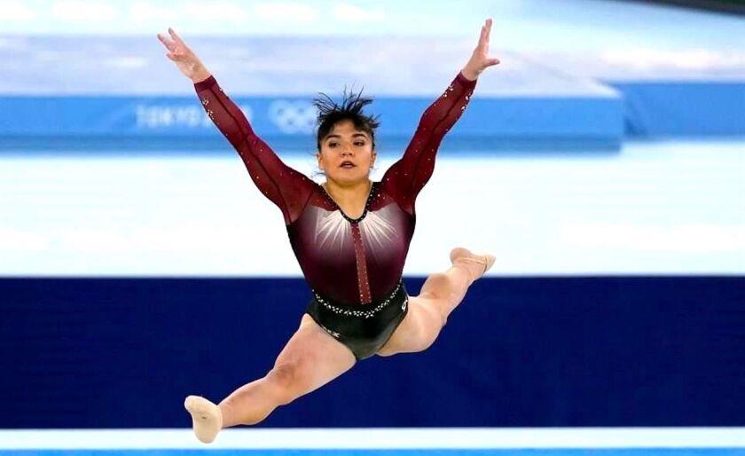 La gimnasta mexicana Alexa Moreno