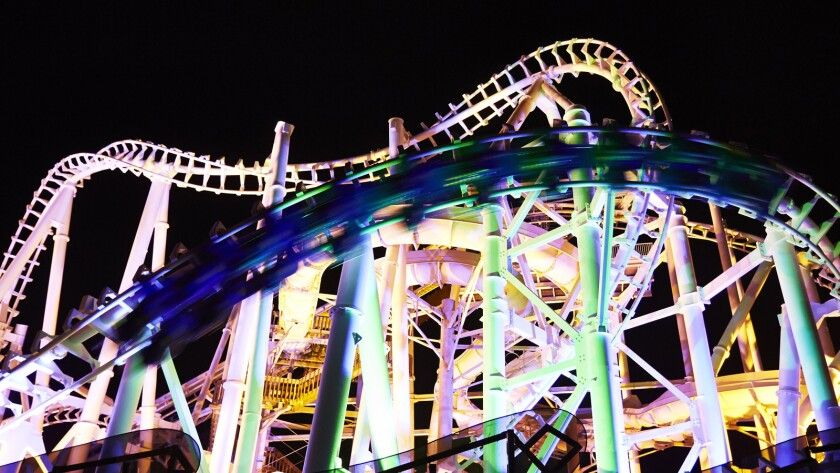 Great Nor'Easter coaster renovation at Morey's Piers