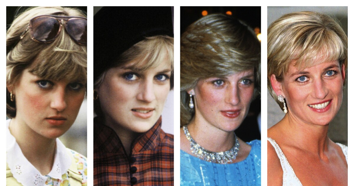 Timeline: Princess Diana's remarkable fashion evolution in 16 photos