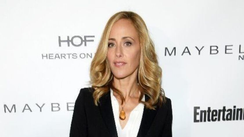 Actress Kim Raver and her husband, writer-director Manu Boyer, have listed their modern Venice home for sale at $3.699 million.