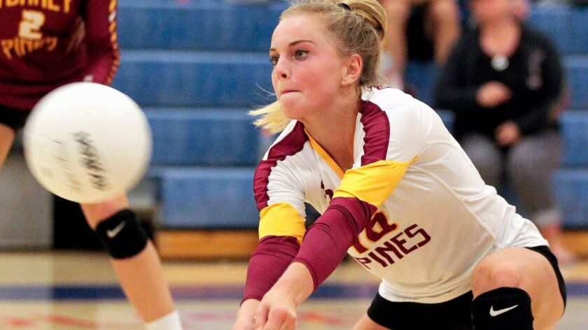 Jaden Whitmarsh has been on an Open Division champion team in three of her four years at Torrey Pines.