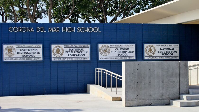 Students at Corona del Mar High School plan to walk out of their classrooms March 14 to protest gun violence following the recent high school shooting in Parkland, Fla. They will join the nationwide movement led by the Women's March.