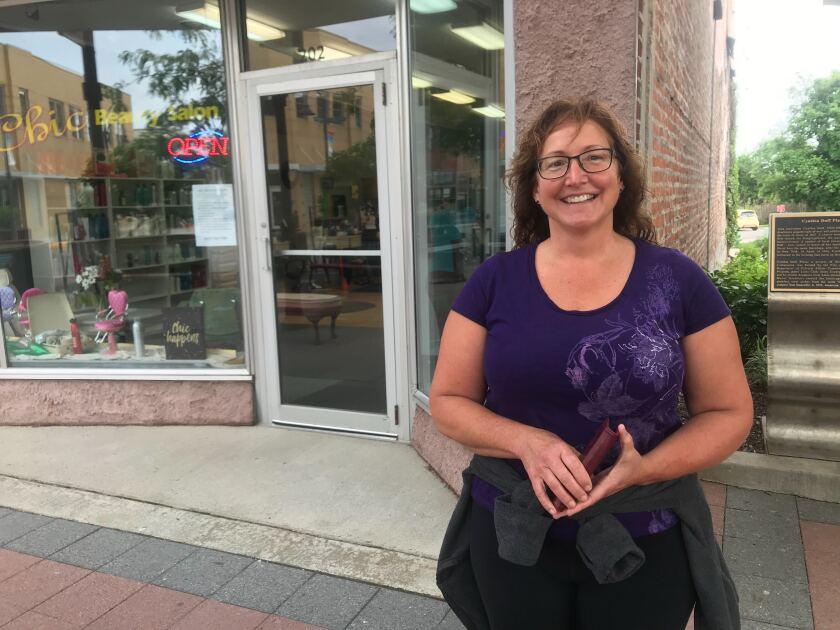 Dana Cheek of Nevada, Iowa