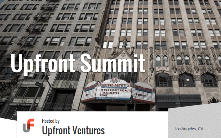 Hundreds of investors and entrepreneurs will attend the annual Upfront Summit at the Ace Hotel on Thursday.
