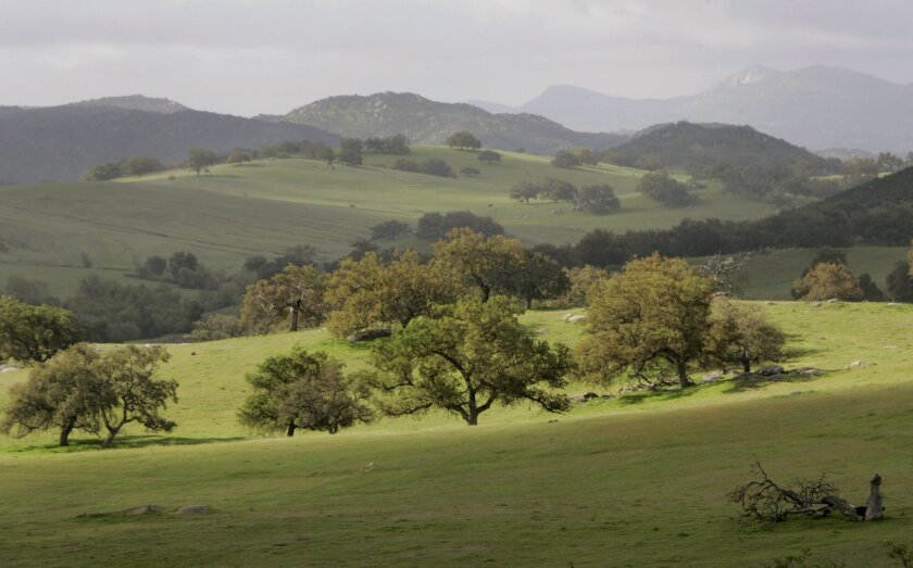 Part of Rancho Guejito, the largest privately owned, undeveloped piece of property in San Diego County