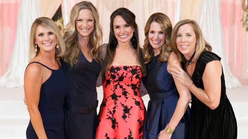Nikki Wood, Michele Rankin (Current), Kelly Stewart, Kimberly Prado and Jennifer Lefebvres.(Courtesy