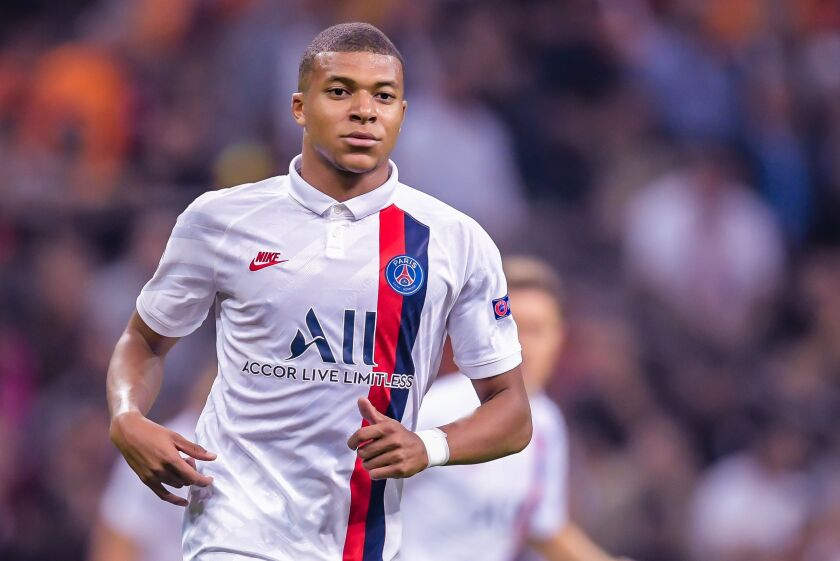Paris Saint-Germain star Kylian Mbappe only has one goal in his last four matches.