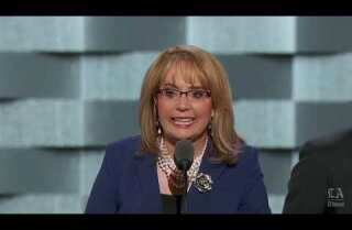 Former Rep. Gabrielle Giffords makes the case for Clinton at the Democratic National Convention