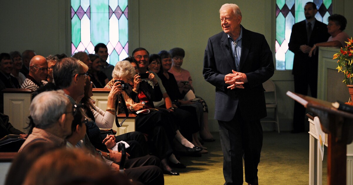 Commentary: The paradox of Jimmy Carter