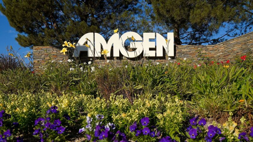 Amgen plans to shuffle and cut hundreds of jobs - Los