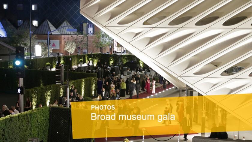 Broad museum gala