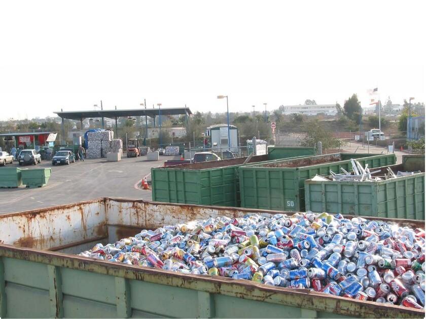 San Diego's Miramar Recycling Center
