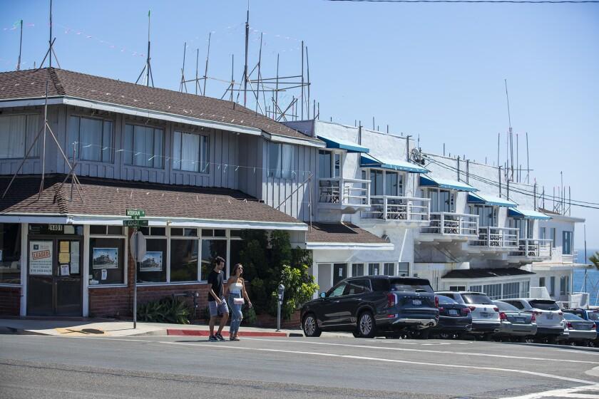 The Coast Inn in Laguna Beach on Friday.