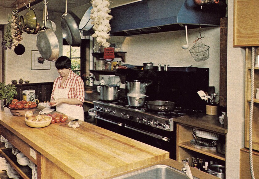 Sally Schmitt in the French Laundry kitchen