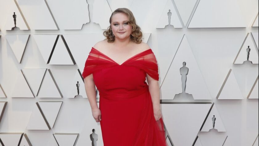 HOLLYWOOD, ?CA ? February 24, 2019 Australian actress Danielle Macdonald during the arrivals at the