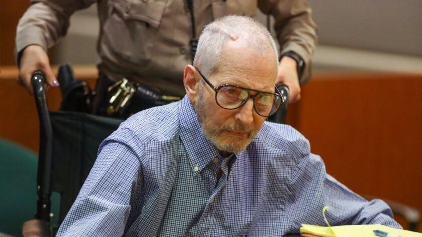 A hearing in the murder case of New York real estate scion Robert Durst was postponed Thursday after the multimillionaire was hospitalized in the middle of the night, officials said.