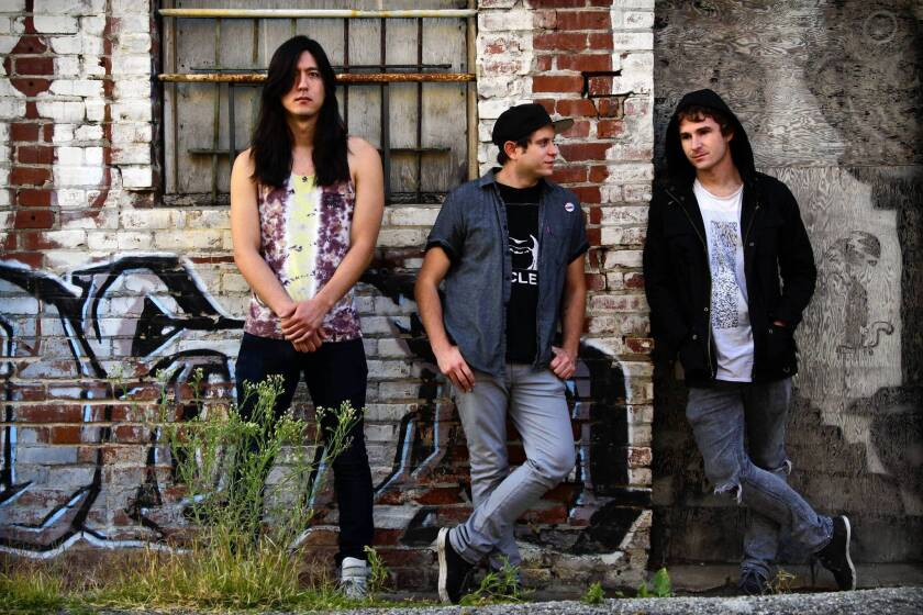 John Famiglietti, Jake Duzsik and Jupiter Keyes are members of the L.A. experimental rock band Health.
