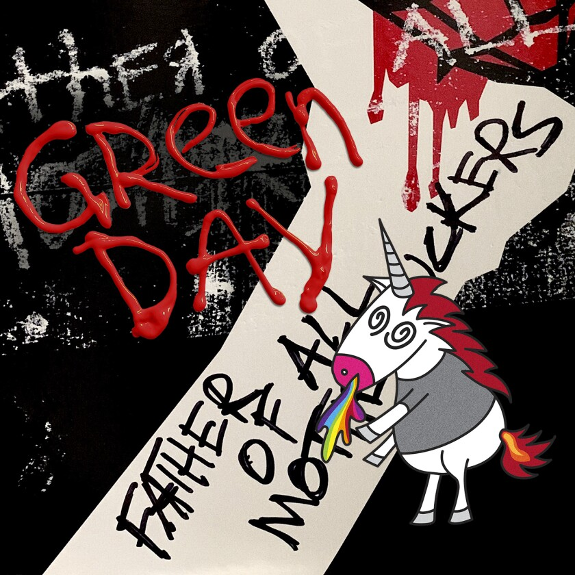 """This cover image released by Reprise/Warner shows """"Father of All..."""" by Green Day. (Reprise/Warner via AP)"""