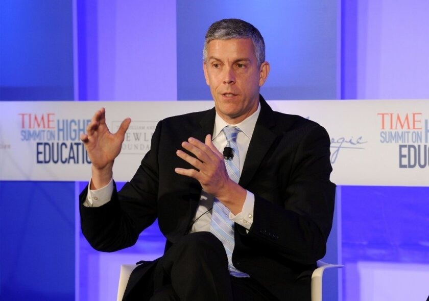 Arne Duncan explains why Johnny can't read. Does he know he's the problem?