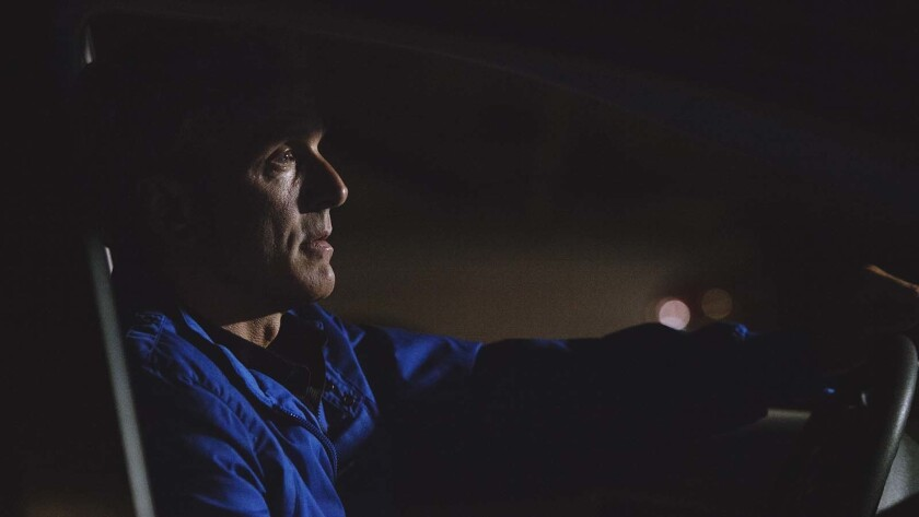 "Patrick Fabian in a scene from ""Driver X."" Credit: Sundance Selects"