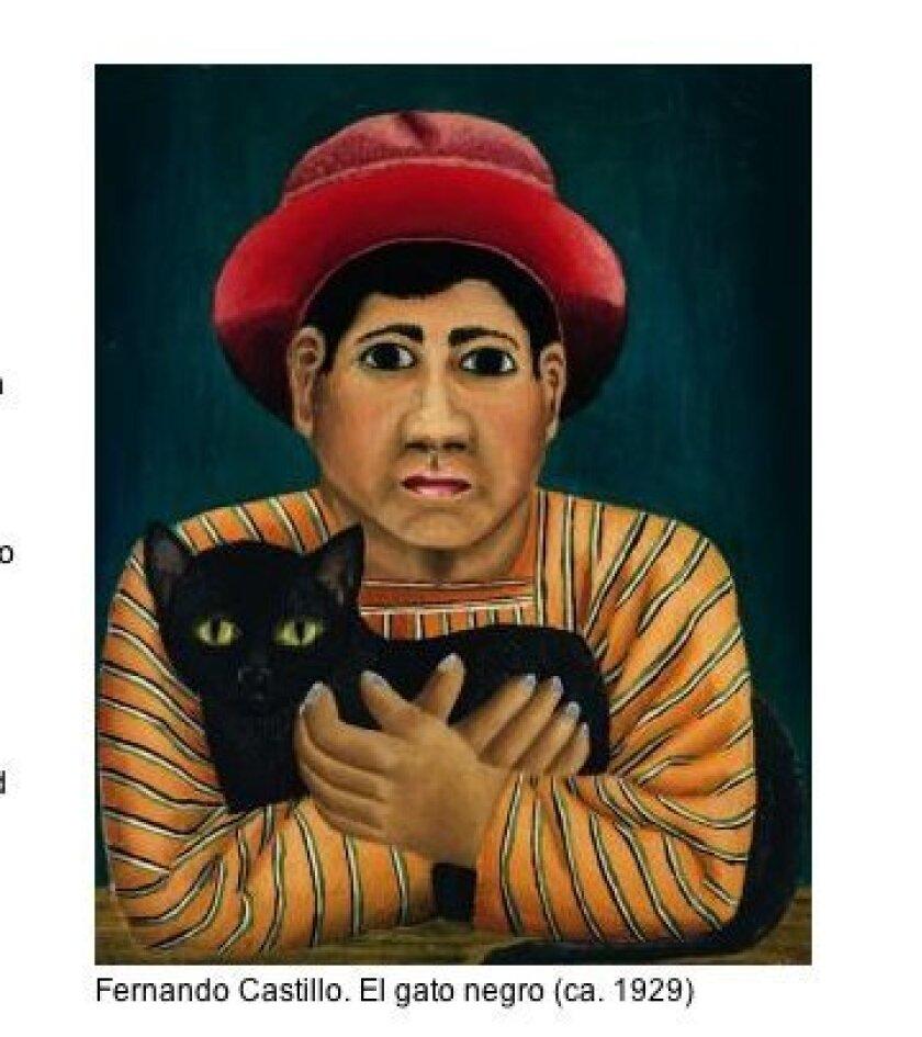 'El Gato Negro' (1929) by Fernando Castillo