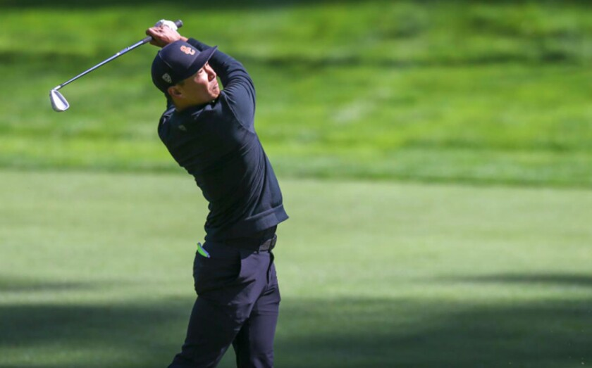 Justin Suh was a four-time All-American at USC before turning pro two years ago.