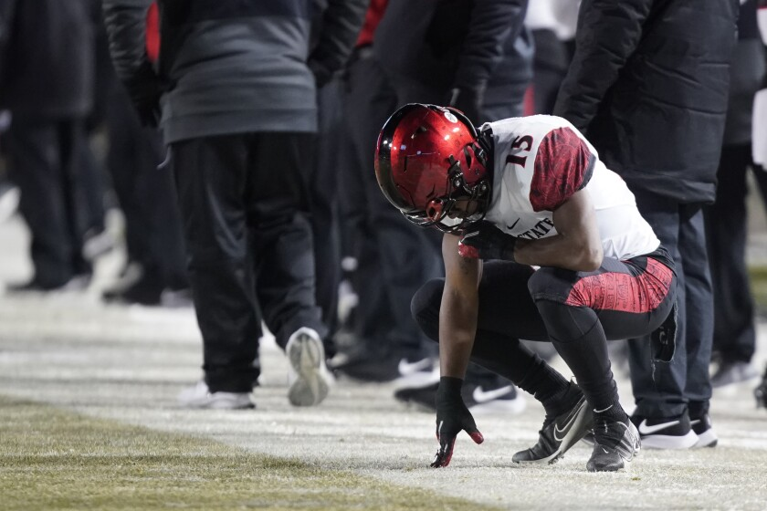 Jordan Byrd and the Aztecs missed out on one of Mountain West bowl berths.