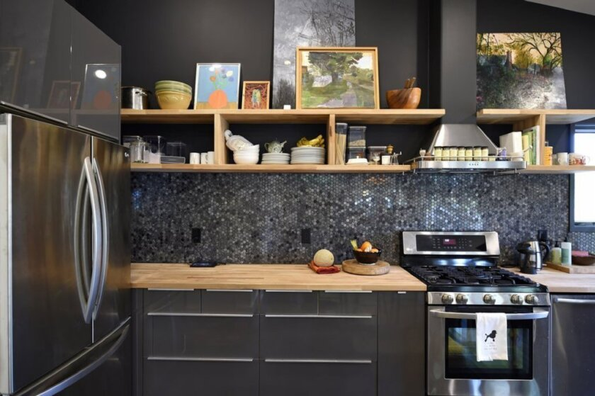 """What you put on your countertop can affect your weight, according to the new book """"Slim By Design."""""""